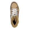 Dámská kotníčková obuv s kožíškem bata, hnědá, 599-4606 - 19