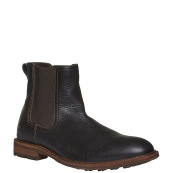 Kožená Chelsea obuv bata, černá, 894-6113 - 13