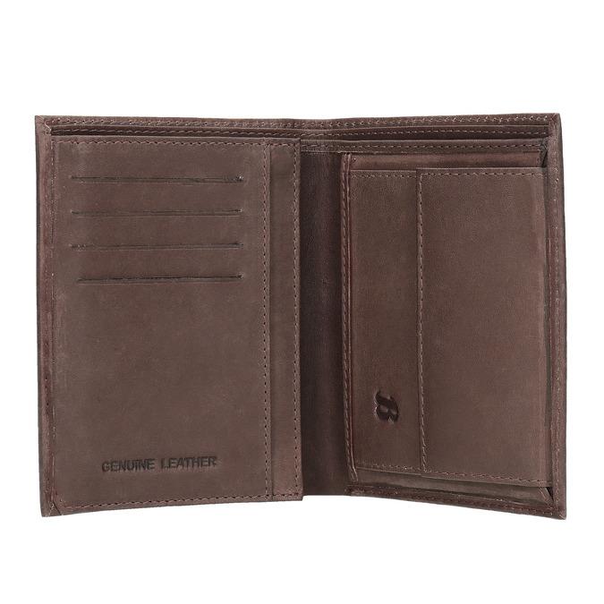 Stylová pánská peněženka bata, hnědá, 944-4172 - 15
