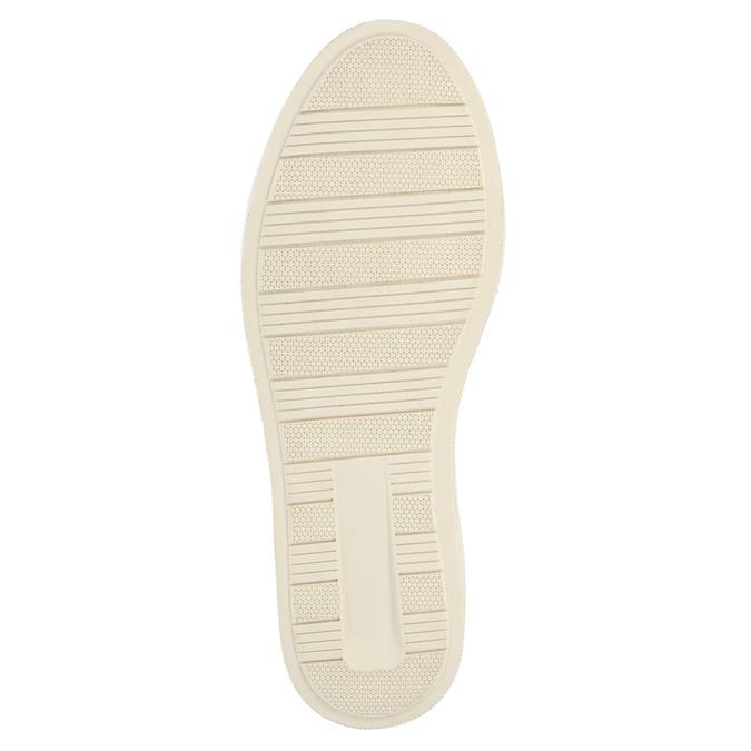 Kožené kotníčkové tenisky se zateplením bata, šedá, 896-2651 - 26