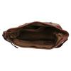 Kožená kabelka v Hobo stylu bata, hnědá, 964-3206 - 15