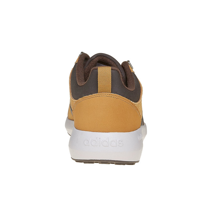 Kožené pánské tenisky adidas, hnědá, 803-3893 - 17