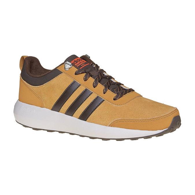 Kožené pánské tenisky adidas, hnědá, 803-3893 - 13