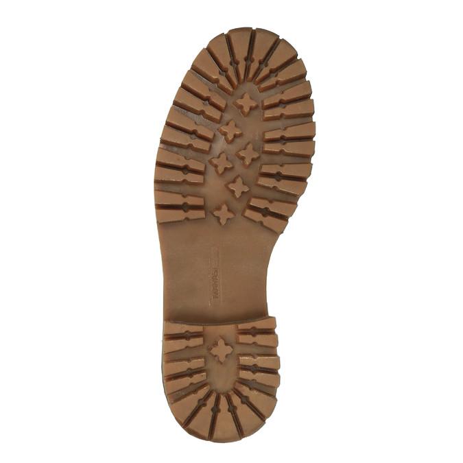 Dámská kožená zimní obuv manas, hnědá, 596-4602 - 26