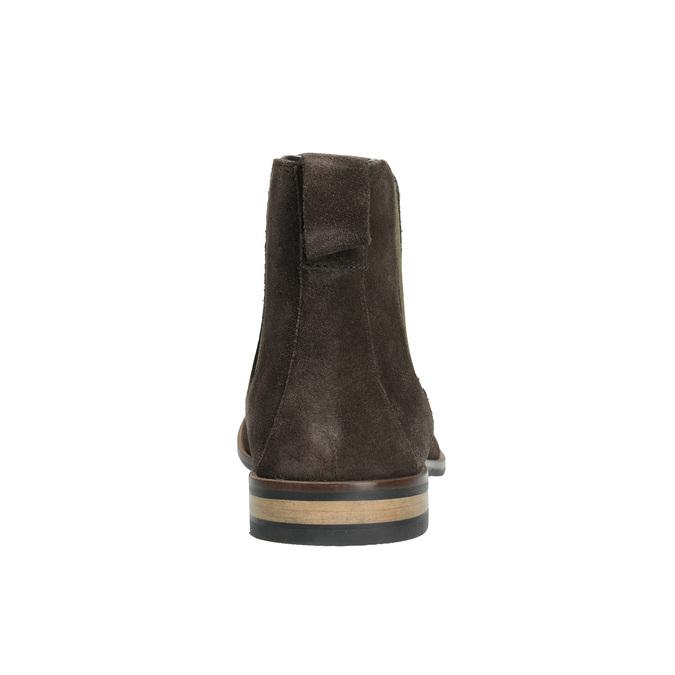 Kožená pánská Chelsea obuv rockport, hnědá, 893-4010 - 17