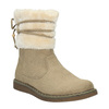 Dětská zimní obuv s kožíškem mini-b, žlutá, 399-8247 - 13
