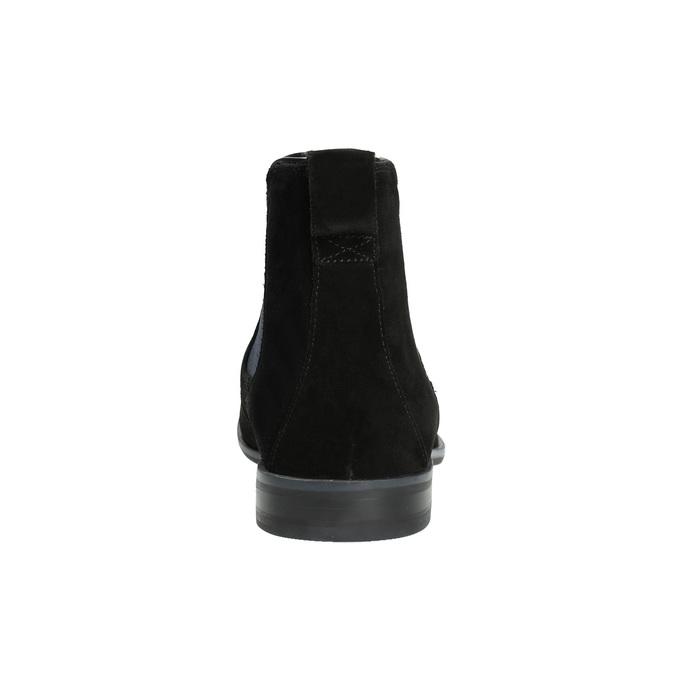 Pánské kožené Chelsea Boots rockport, černá, 893-6010 - 17