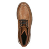 Kožená kotníčková obuv pánská bata, hnědá, 894-3658 - 19