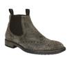 Kožené Chelsea Boots s prodyšnou podešví geox, šedá, 813-8030 - 13