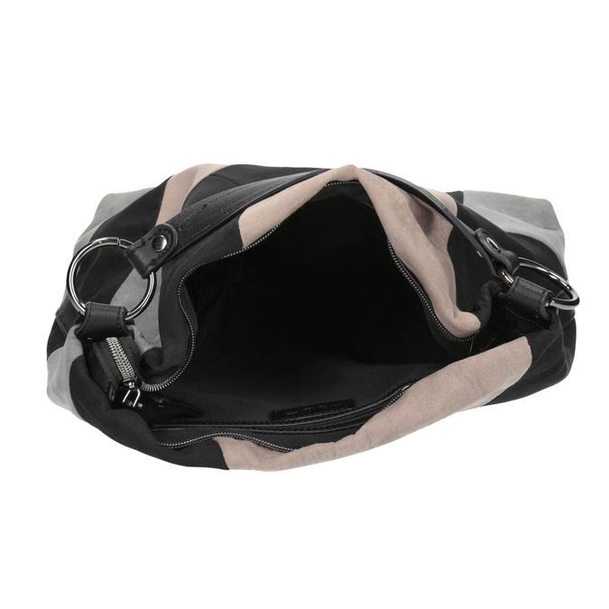 Kabelka ve stylu Hobo Bag bata, černá, 969-6231 - 15