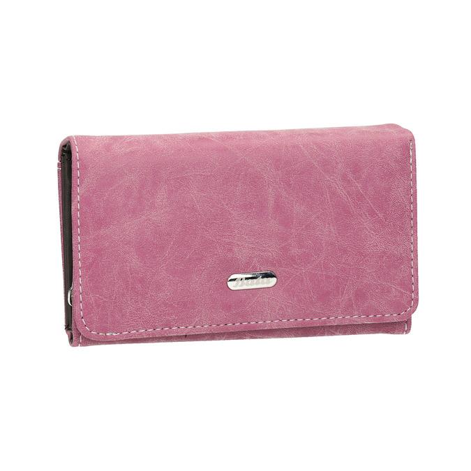 Stylová dámská peněženka bata, růžová, 941-5153 - 13