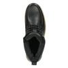 Pánská kožená kotníčková obuv bata, černá, 896-6652 - 19