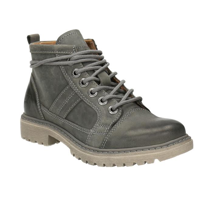 Dámská kotníčková obuv weinbrenner, šedá, 594-2409 - 13