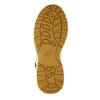 Pánská kožená kotníčková obuv nike, žlutá, 806-8435 - 26