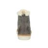 Kožené kotníčkové tenisky s kožíškem weinbrenner, šedá, 596-2627 - 17