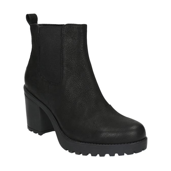 Dámská kotníčková obuv vagabond, černá, 796-6002 - 13