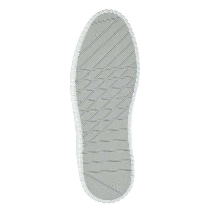 Kožená kotníčková obuv bata, modrá, 846-9615 - 26