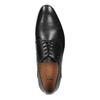 Černé celokožené polobotky pánské bata, černá, 826-6778 - 19