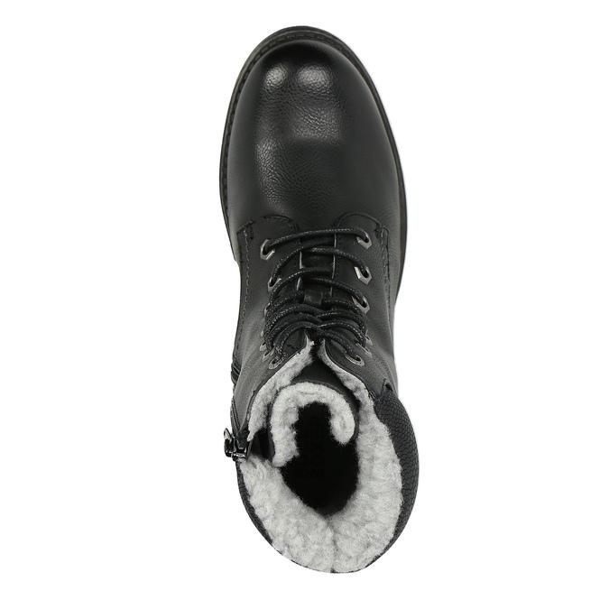 Dětská obuv s kožíškem bull-boxer, černá, 491-6008 - 19