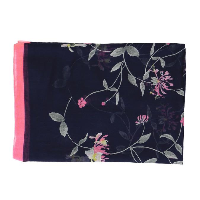Šátek s potiskem květin joules, modrá, 929-9004 - 26