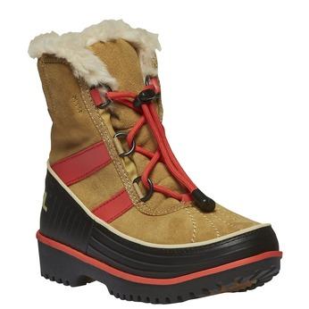 Kids shoes sorel, žlutá, 493-8006 - 13