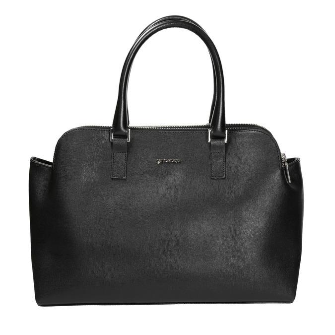 Elegantní kožená kabelka gino-rossi, černá, 964-6021 - 26