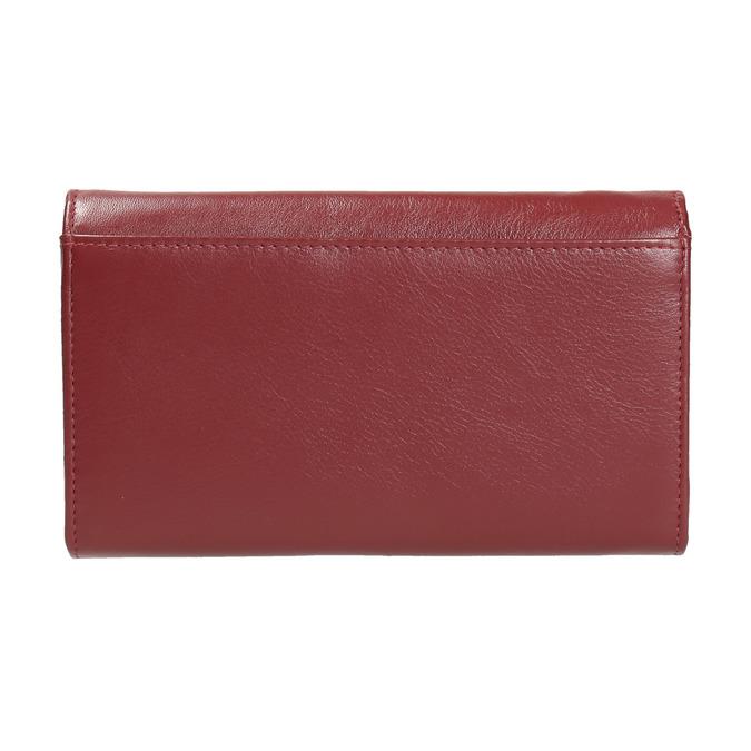 Dámská kožená peněženka bata, červená, 944-5357 - 19
