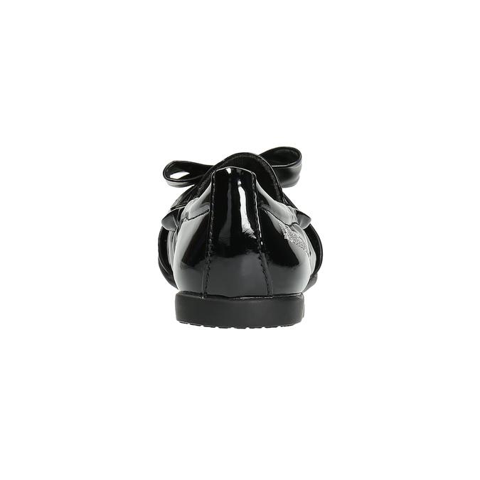 Lakované dětské baleríny lelli-kelly, černá, 321-6003 - 17