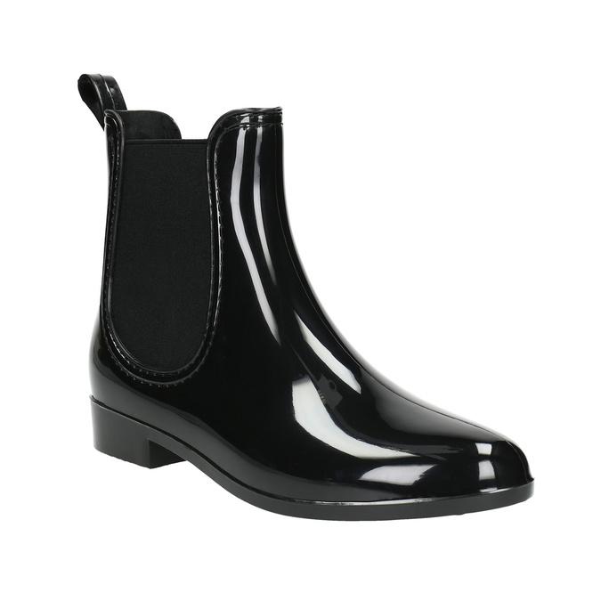 Dámská obuv do deště bata, černá, 592-6779 - 13