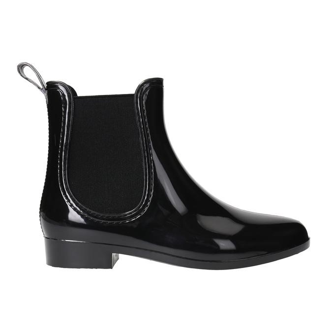 Dámská obuv do deště bata, černá, 592-6779 - 15