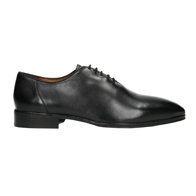 Černé celokožené Oxfordky bata, černá, 824-6788 - 15