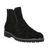 Dámská obuv na výrazné podešvi gabor, černá, 613-6016 - 13