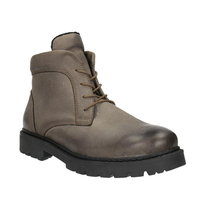 Kotníčková pánská obuv bata, hnědá, 896-4653 - 13