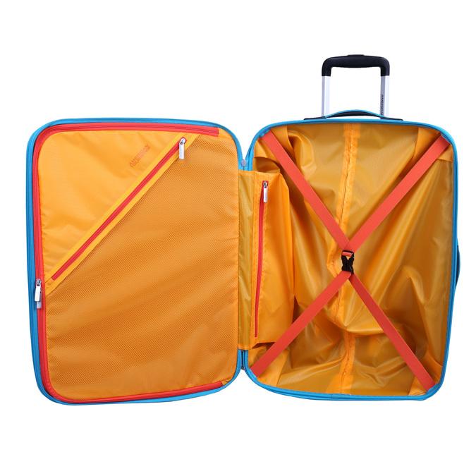 Skořepinový kufr na kolečkách american-tourister, tyrkysová, 960-9111 - 15
