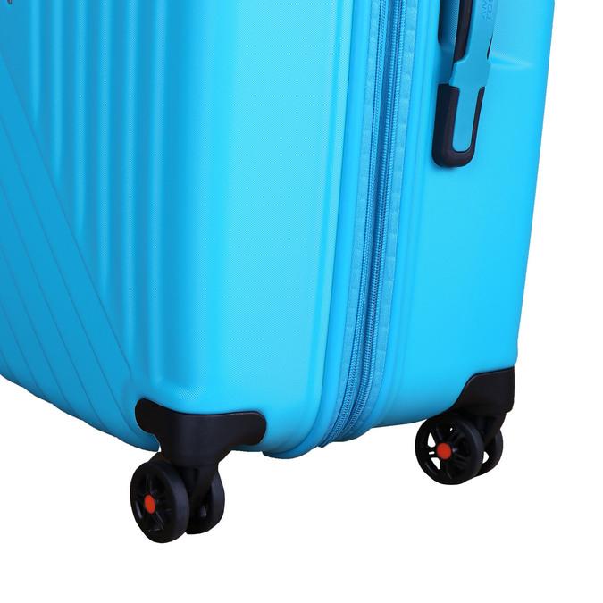 Skořepinový kufr na kolečkách american-tourister, tyrkysová, 960-9111 - 19