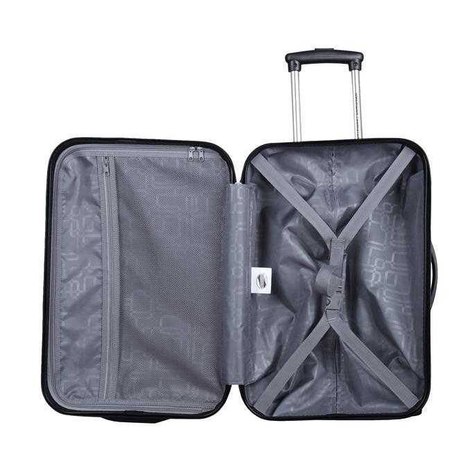 Menší cestovní kufr na kolečkách american-tourister, černá, 960-6112 - 15