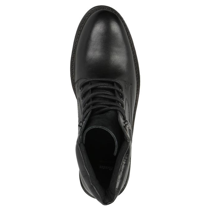 Kotníčková pánská obuv bata, černá, 894-6673 - 19