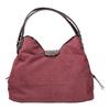 Vínová kabelka s lakovanými detaily bata, fialová, 969-5209 - 19