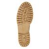 Dámská zimní obuv s kožíškem weinbrenner, žlutá, 593-8476 - 17