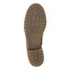 Hnědé kožené kozačky bata, hnědá, 594-4613 - 26