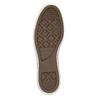 Kožené kotníčkové tenisky converse, hnědá, 846-4081 - 26