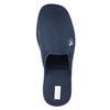 Pánská domácí obuv s plnou špicí bata, modrá, 879-9605 - 19