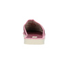 Dámská domácí obuv s kytičkou bata, červená, 579-5605 - 17