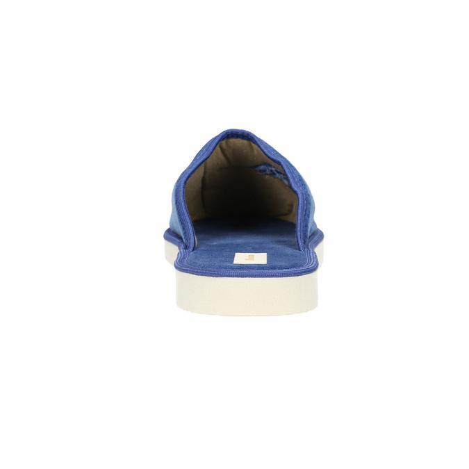 Modré domácí pantofle dámské bata, modrá, 579-9608 - 17