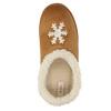 Domácí pantofle s umělým kožíškem bata, hnědá, 579-8612 - 19