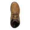 Kožená kotníčková obuv dámská merrell, hnědá, 506-3809 - 19