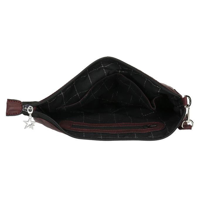 Kabelka ve stylu psaníčka bata, červená, 969-5631 - 15