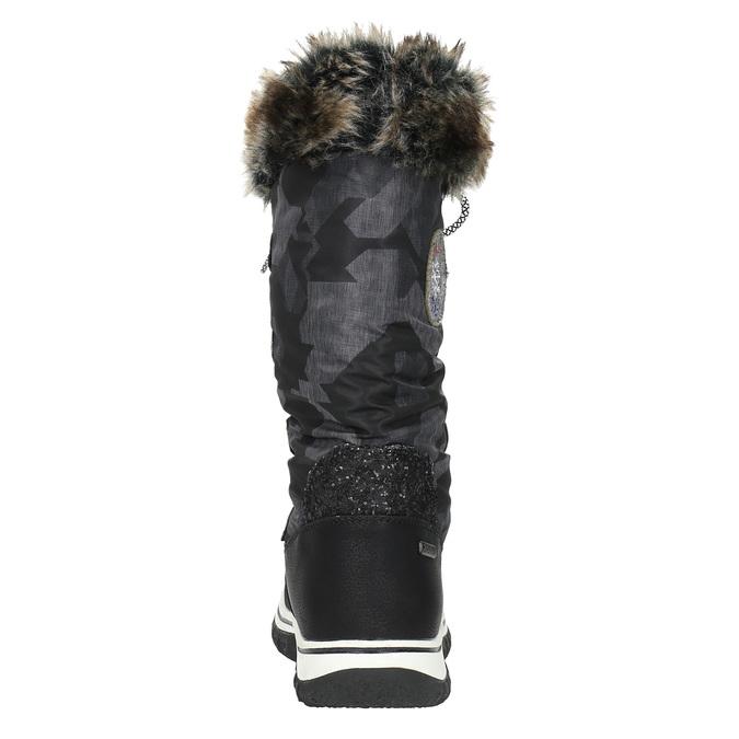 Dámské sněhule s kožíškem bata, černá, 599-6609 - 17