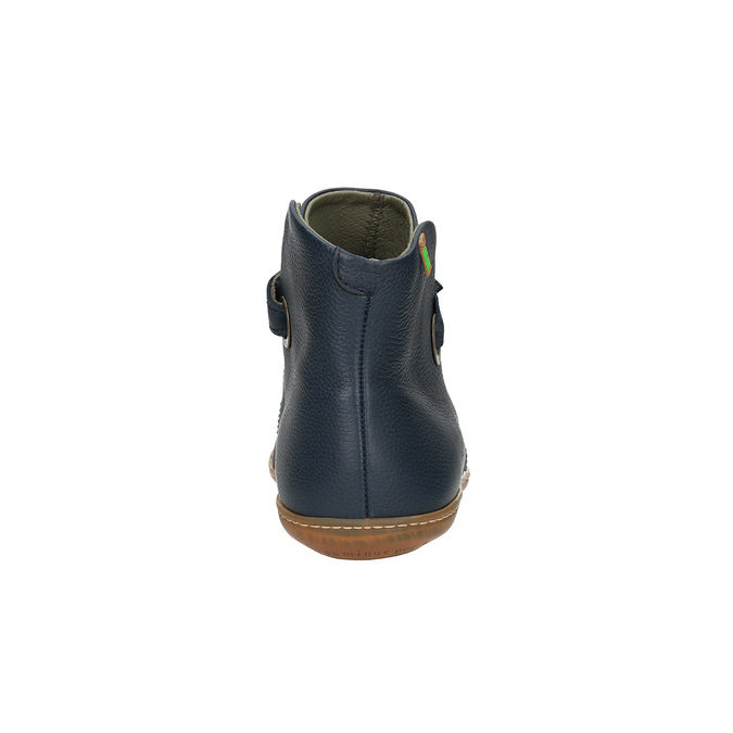 Dámská kotníčková obuv el-naturalista, modrá, 516-9040 - 17