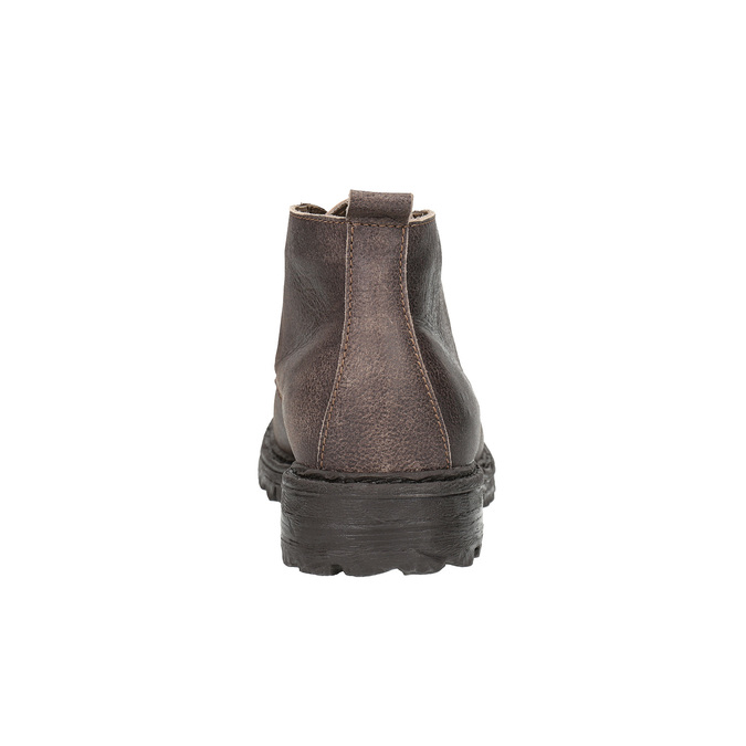 Pánská kotníčková obuv weinbrenner, hnědá, 846-4603 - 17